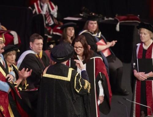 Jayne Pearce awarded Honorary Doctorate